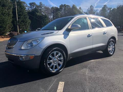 2011 Buick Enclave for sale at GTO United Auto Sales LLC in Lawrenceville GA