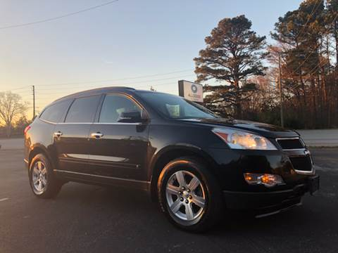 2010 Chevrolet Traverse for sale at GTO United Auto Sales LLC in Lawrenceville GA
