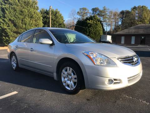 2012 Nissan Altima for sale at GTO United Auto Sales LLC in Lawrenceville GA