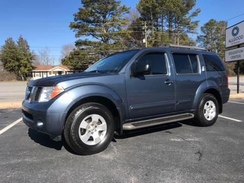 2006 Nissan Pathfinder for sale at GTO United Auto Sales LLC in Lawrenceville GA
