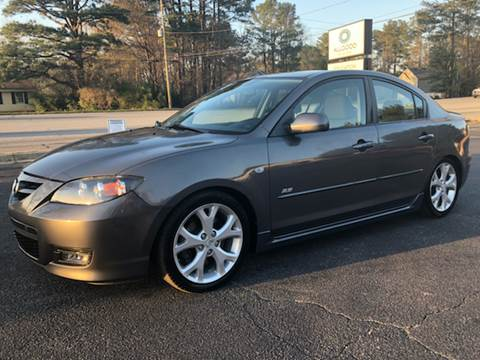 2008 Mazda MAZDA3 for sale at GTO United Auto Sales LLC in Lawrenceville GA