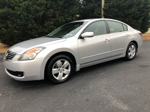 2007 Nissan Altima for sale at GTO United Auto Sales LLC in Lawrenceville GA