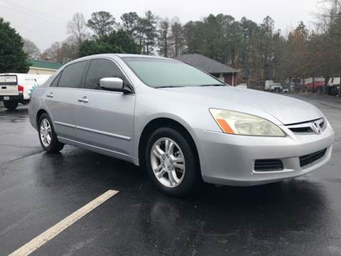2007 Honda Accord for sale at GTO United Auto Sales LLC in Lawrenceville GA
