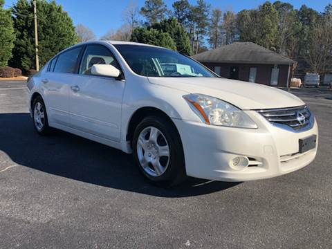 2011 Nissan Altima for sale at GTO United Auto Sales LLC in Lawrenceville GA