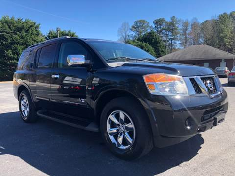 2008 Nissan Armada for sale at GTO United Auto Sales LLC in Lawrenceville GA