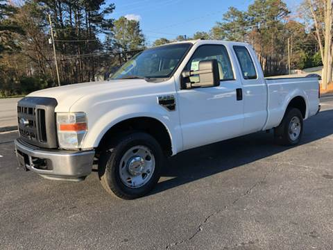 2008 Ford F-250 Super Duty for sale at GTO United Auto Sales LLC in Lawrenceville GA