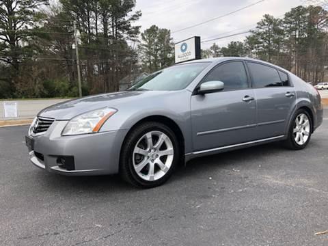 2008 Nissan Maxima for sale at GTO United Auto Sales LLC in Lawrenceville GA