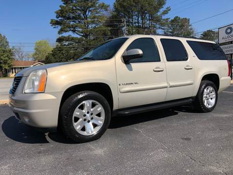 2007 GMC Yukon XL for sale at GTO United Auto Sales LLC in Lawrenceville GA