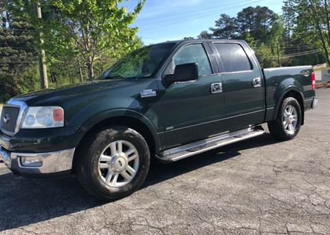 2004 Ford F-150 for sale at GTO United Auto Sales LLC in Lawrenceville GA