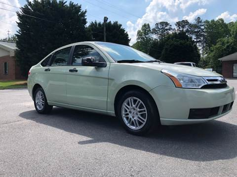 2010 Ford Focus for sale at GTO United Auto Sales LLC in Lawrenceville GA