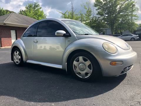 2001 Volkswagen New Beetle for sale at GTO United Auto Sales LLC in Lawrenceville GA