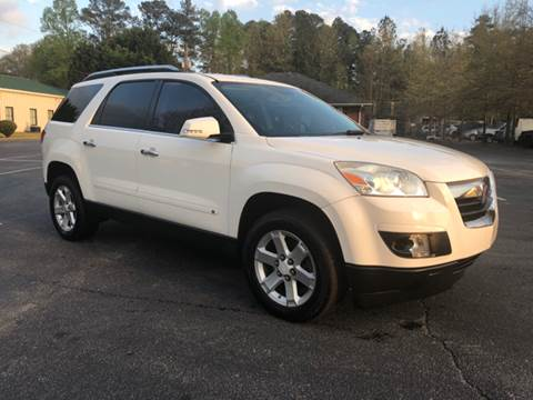 2007 Saturn Outlook for sale at GTO United Auto Sales LLC in Lawrenceville GA