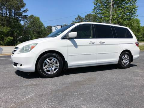2006 Honda Odyssey for sale at GTO United Auto Sales LLC in Lawrenceville GA