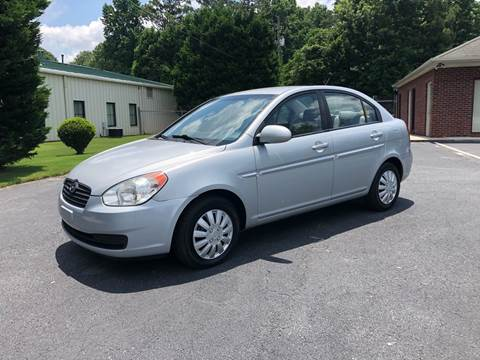 2008 Hyundai Accent for sale at GTO United Auto Sales LLC in Lawrenceville GA