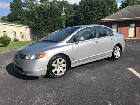 2008 Honda Civic for sale at GTO United Auto Sales LLC in Lawrenceville GA