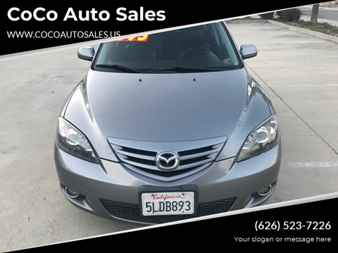 2004 Mazda MAZDA3 for sale in South El Monte, CA
