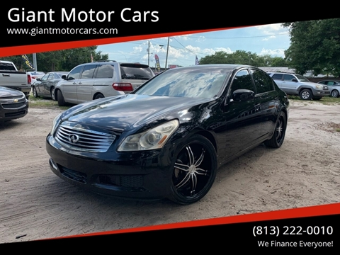 Used Infiniti G35 For Sale In Florida Carsforsale Com