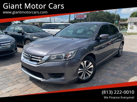 2015 Honda Accord for sale in Tampa, FL