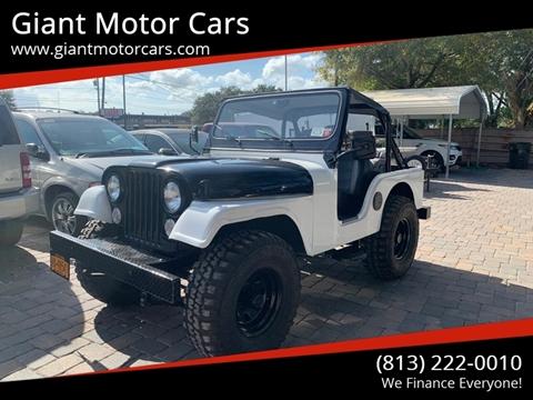 1968 Jeep CJ-5 for sale in Tampa, FL