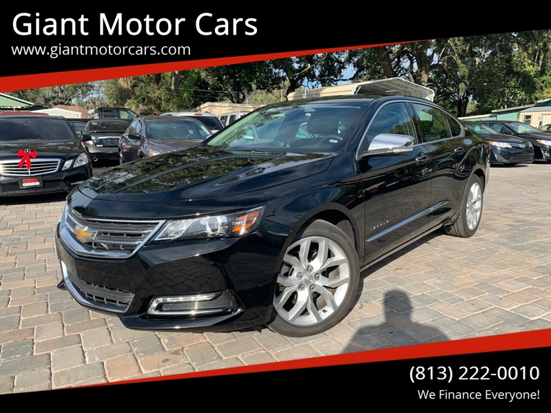 2020 Chevrolet Impala for sale at Giant Motor Cars in Tampa FL
