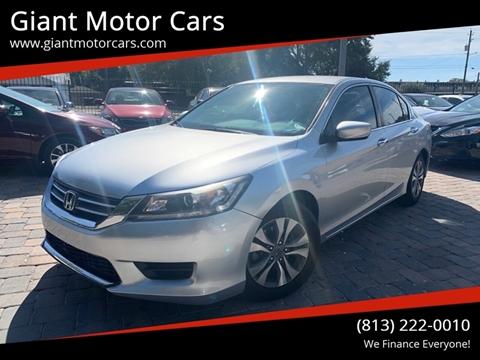 2014 Honda Accord for sale in Tampa, FL
