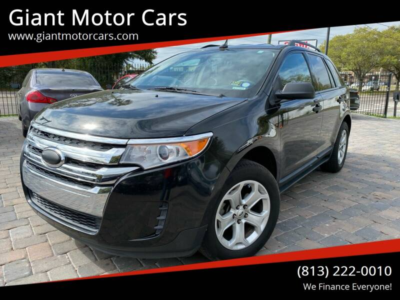 2013 Ford Edge for sale at Giant Motor Cars in Tampa FL