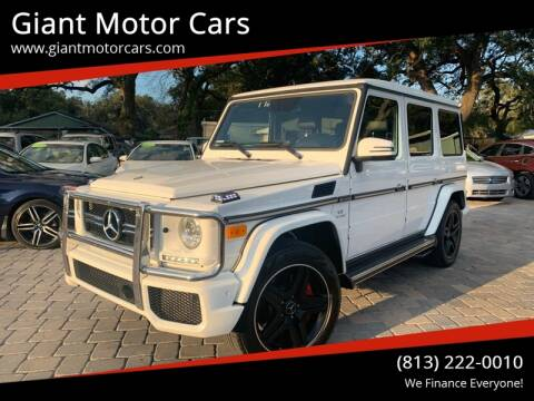2014 Mercedes-Benz G-Class for sale at Giant Motor Cars in Tampa FL