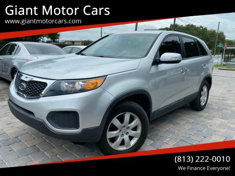 2012 Kia Sorento for sale at Giant Motor Cars in Tampa FL