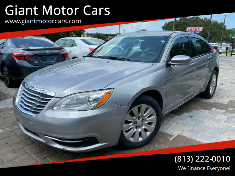 2013 Chrysler 200 for sale at Giant Motor Cars in Tampa FL