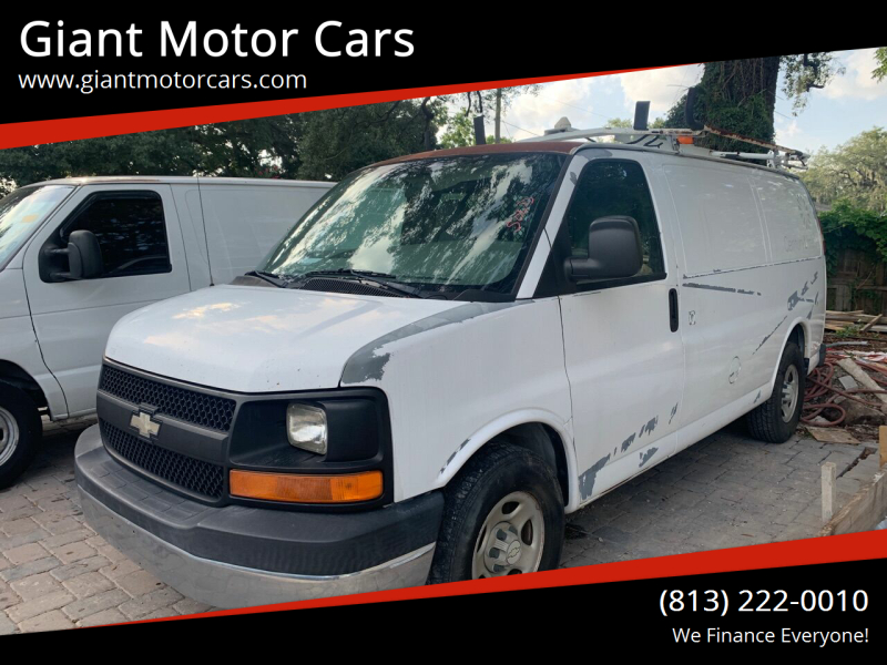 2007 Chevrolet Express Cargo for sale at Giant Motor Cars in Tampa FL