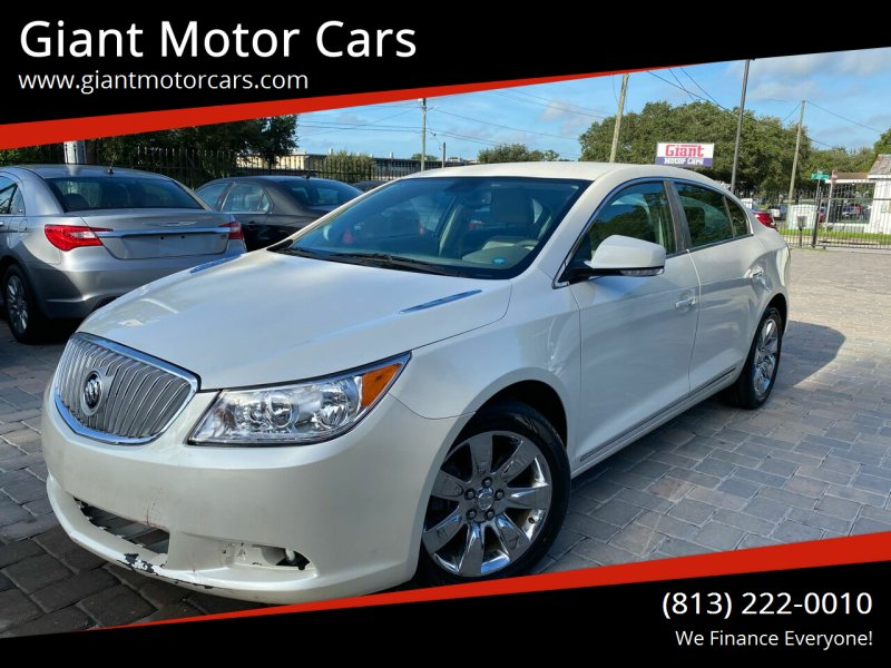 2011 Buick LaCrosse for sale at Giant Motor Cars in Tampa FL
