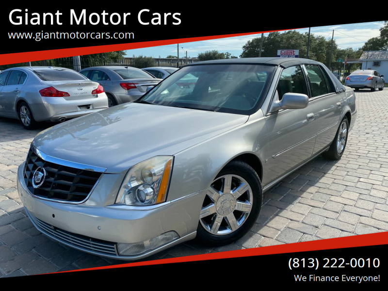 2006 Cadillac DTS for sale at Giant Motor Cars in Tampa FL