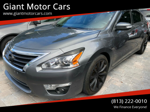 2014 Nissan Altima for sale at Giant Motor Cars in Tampa FL