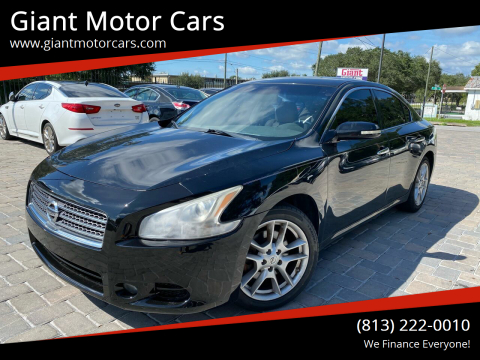 2011 Nissan Maxima for sale at Giant Motor Cars in Tampa FL