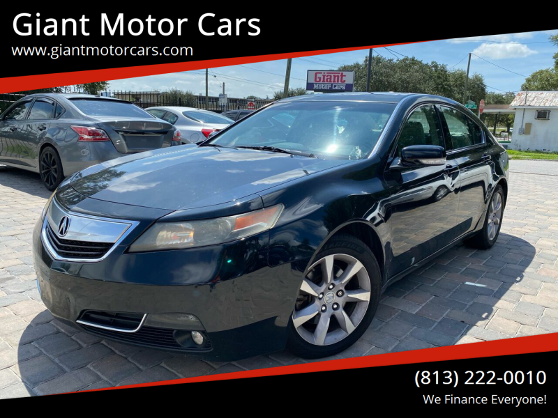 2013 Acura TL for sale at Giant Motor Cars in Tampa FL