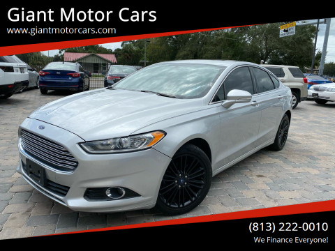 2014 Ford Fusion for sale at Giant Motor Cars in Tampa FL