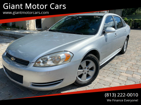 2010 Chevrolet Impala for sale at Giant Motor Cars in Tampa FL