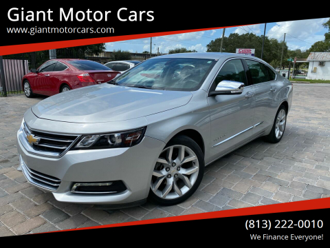 2018 Chevrolet Impala for sale at Giant Motor Cars in Tampa FL