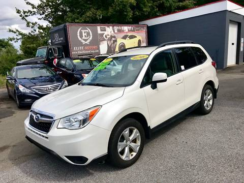 2014 Subaru Forester for sale in West Haven, CT