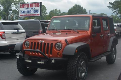 2009 Jeep Wrangler Unlimited for sale in Stafford, VA