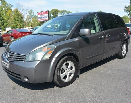 2007 Nissan Quest for sale in Stafford, VA