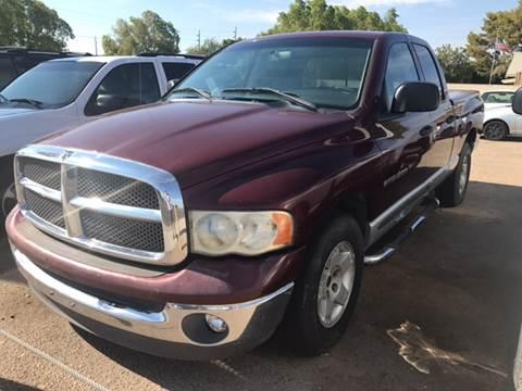 2002 Dodge Ram Pickup 1500 for sale in Yuma, AZ