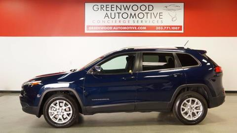 2015 Jeep Cherokee for sale in Greenwood Village, CO