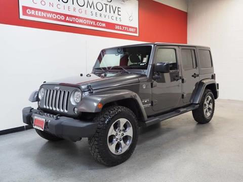 2016 Jeep Wrangler Unlimited for sale in Greenwood Village, CO