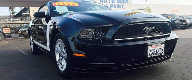 2013 Ford Mustang for sale at DIAMOND AUTO SALES in El Cajon CA