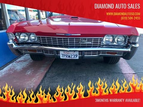 1968 Chevrolet Impala for sale in La Mesa, CA