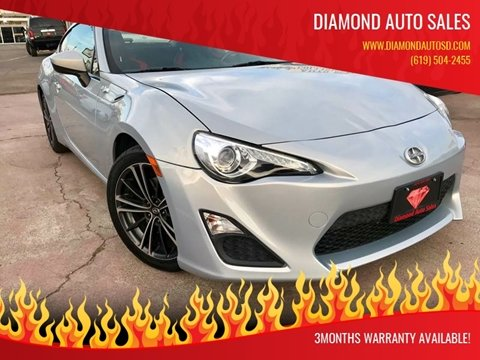 2013 Scion FR-S for sale at DIAMOND AUTO SALES in El Cajon CA