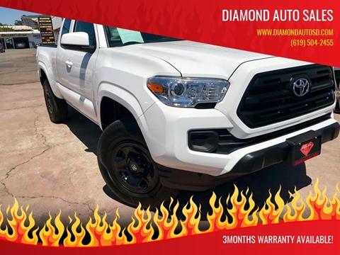 2017 Toyota Tacoma for sale at DIAMOND AUTO SALES in El Cajon CA