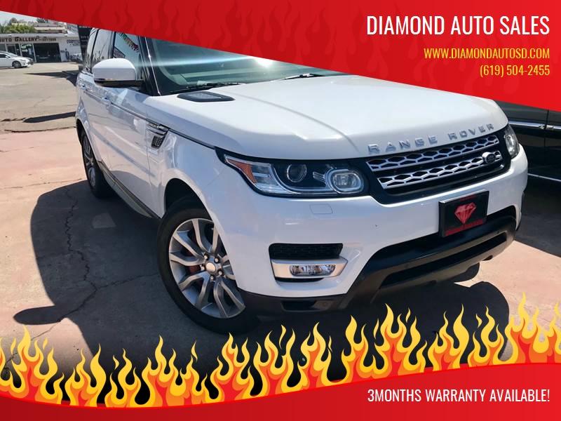 2014 Land Rover Range Rover Sport for sale at DIAMOND AUTO SALES in El Cajon CA
