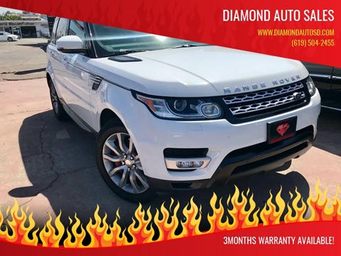 2014 Land Rover Range Rover Sport for sale at DIAMOND AUTO SALES in El Cajon CA